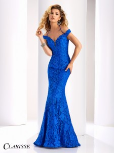 Clarisse Dress 4801 in Royal for 2018