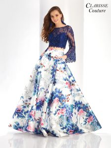 Floral prom dress Clarisse 4977